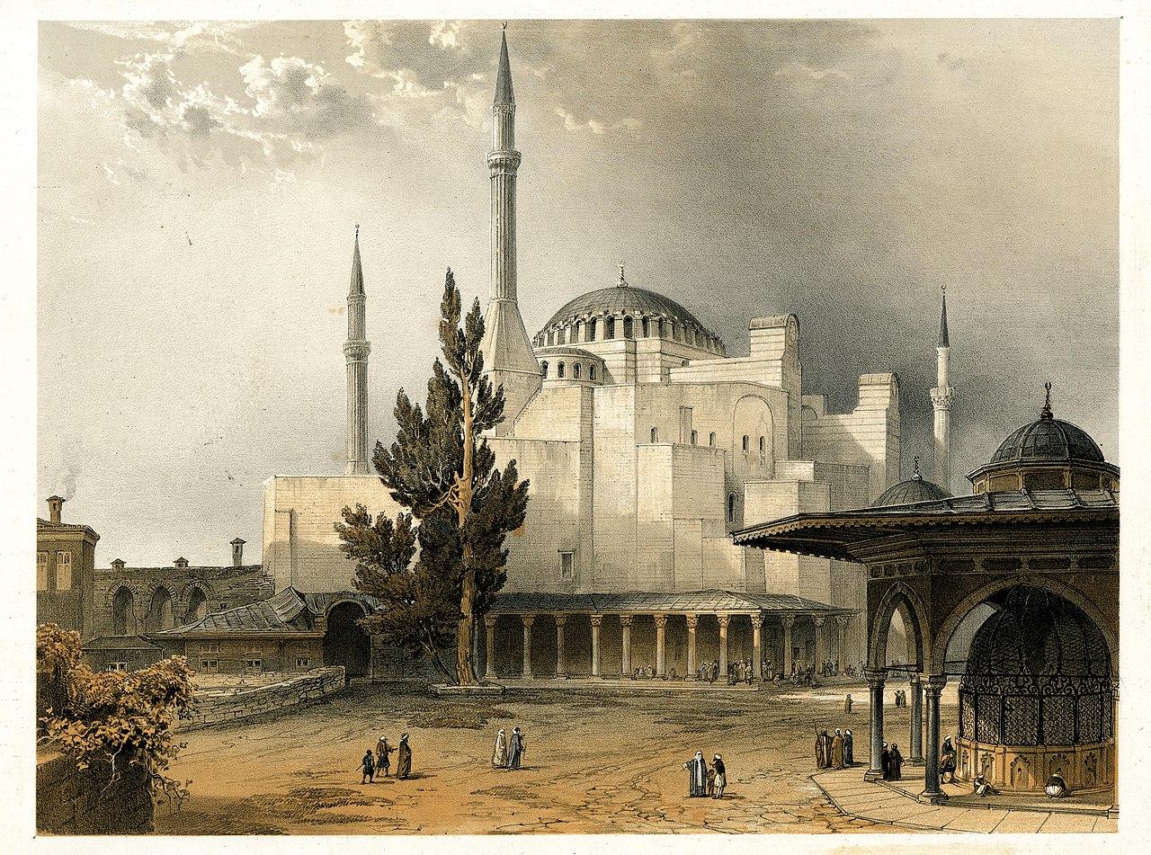 Aya Sofia, Constantinople (BM 1889,0603.109).jpg