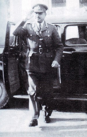 Inter-Services Intelligence - General Ayub Khan, arriving to take command of the Pakistan Army in 1951