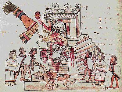 Sacrificios Humanos En La América Precolombina Wikipedia La