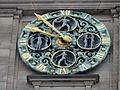 Börse (Hamburg-Altstadt) Uhr.JPG