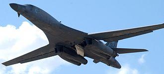 Gora Prai airstrike - Image: B 1B Lancer 2
