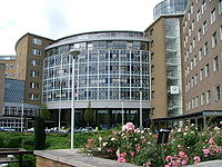 BBC Television Centre at White City, West London.