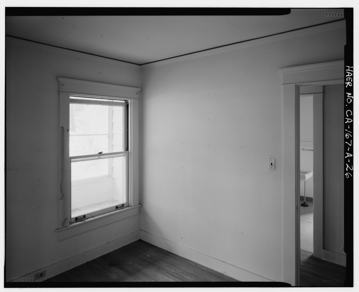 File Bedroom 2 Interior Showing Open Door To Hall With