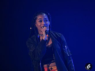 Bia (rapper) - Bia opening for Dangerous Woman Tour, February 2017