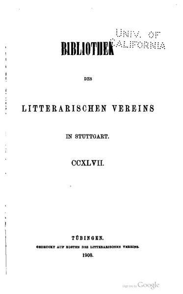 File:BLV 247 Hugo von Trimberg Der Renner Band 1.pdf