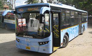Bangalore Metropolitan Transport Corporation - A BMTC UD bus