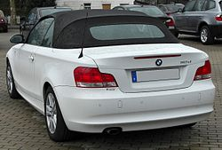 BMW 118d Cabriolet rear 20100411.jpg