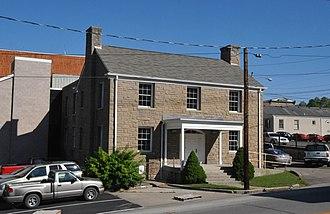 National Register of Historic Places listings in Breathitt County, Kentucky - Image: BREATHITT COUNTY JAIL