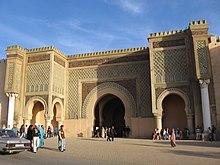 Meknes Bab_Mansour Gate