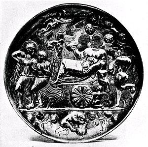 Badakhshan - Image: Badakshan patera Triumph of Bacchus British Museum