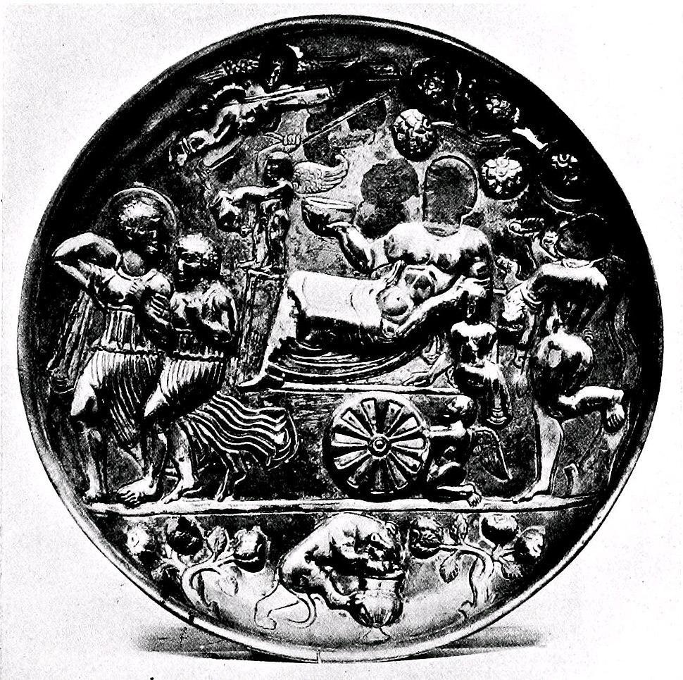 Badakshan patera Triumph of Bacchus British Museum