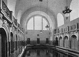 Baerwaldbad Schwimmhalle 1906