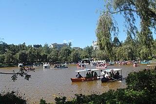 Burnham Park (Baguio) Historic urban park in Baguio City named after Daniel Burnham