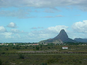 Inselberg - Inselberg in the state of Bahia, northeastern Brazil
