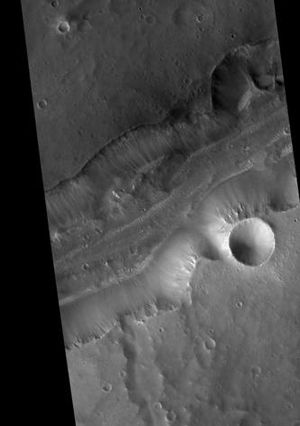 Lunae Palus quadrangle - Image: Bahram Vallis