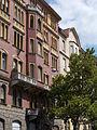 Bakáts street facade. - cca. 46, Lónyai St., Budapest District IX.JPG