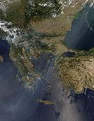 Balkan Fires, Earth from Aqua (EOS PM-1) (2007-07-25).jpg