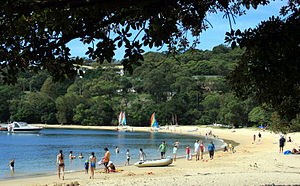 Balmoral, New South Wales - Southern end of Balmoral Beach