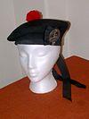 100px Balmoral bonnet black HATS