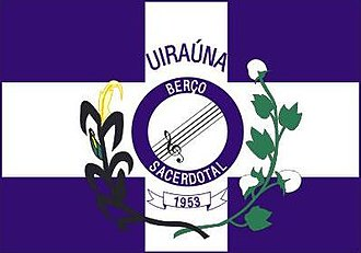 Uiraúna - Image: Bandeira UIRAUNA