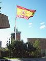 Bandera Nacional de España (Pl. Colón, Madrid) 04.jpg