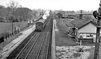 Cambrian Railways - Bangor-on-Dee Station in 1962