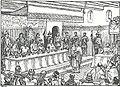 Banket i juni 826 hos kejser Ludvig den Fromme efter dåben af Harald Klak og hans dronning.jpg