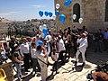 Bar mitswa in Old town Jeruzalem ( 2015) (16869294877).jpg