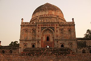 Lodi Gardens - Bara Gumbad and Mosque, Lodi Gardens, New Delhi