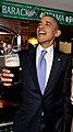 Barack Obama in Ollie Hayes Pub (cropped).jpg