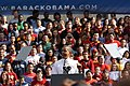 Barack Obama speaking at USC on Oct. 22, 2010. (Shotgun Spratling-Neon Tommy) (5106172288).jpg