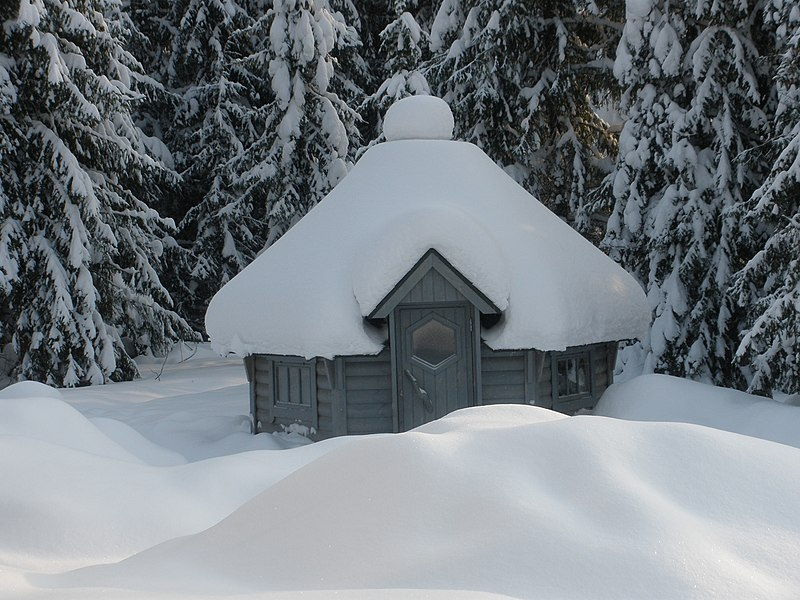 File:Barbecue Shelter in the Winter from Finland (02.02.2010) - panoramio.jpg