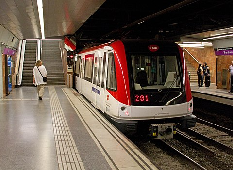 Barcelona Metro Paral lel