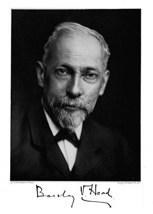 Barclay V. Head - Barclay Vincent Head, 1844–1914.