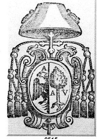 Bartolomeo Roverella - Coat of arms of Cardinal Bartolomeo Roverella.