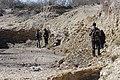 Base de la Formación Roca en el Cañadón Cholino, General Roca, Río Negro.jpg