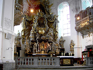 Gößweinstein - The Apsis of the Basilica minor of the Holy Trinity