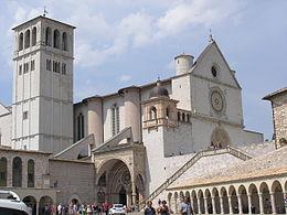 La Basilica di San Francesco ad Assisi, uno dei simboli dell'Umbria