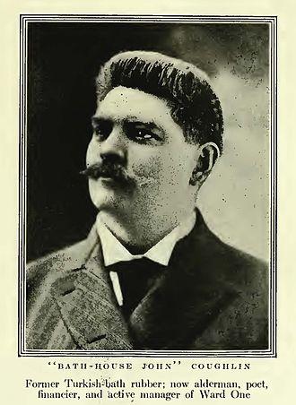 John Coughlin (alderman) - Image: Bathhouse John Coughlin