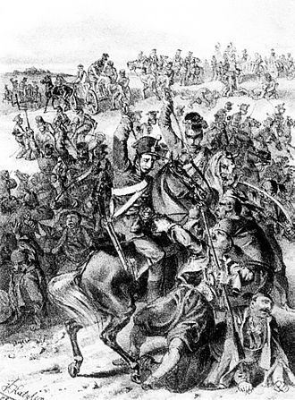 Serb uprising of 1848–49 - Image: Battle of Vilovo, Katzler