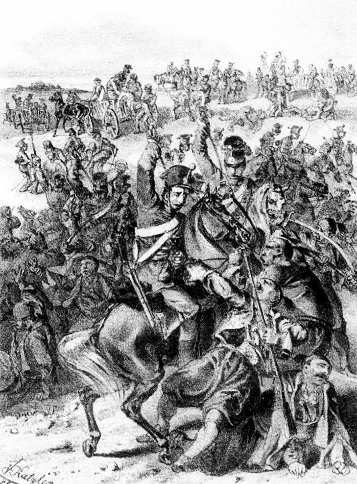 Battle of Vilovo, Katzler