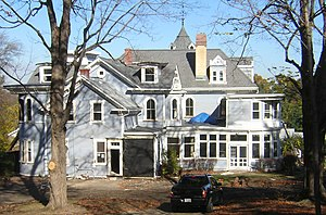 Baxter–King House - Image: Baxter King House Quincy MA 01