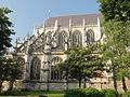 Beauvais (60), église Saint-Étienne, chœur, vue depuis le nord.JPG