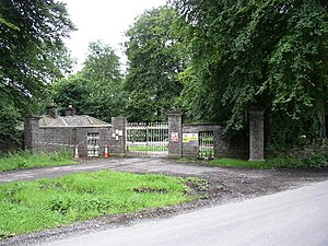 English: Bective House North Entrance This 180...