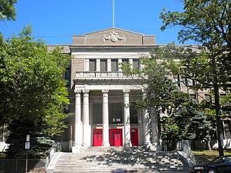 National Register of Historic Places listings in West Philadelphia - Image: Beeber Jr HS