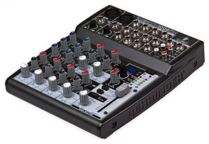 Behringer - A Behringer audio mixer