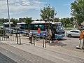 Beijing Horti-EXPO Shuttle Bus Route 1 at Zhuxinzhuang, Aug 14 2020.jpg