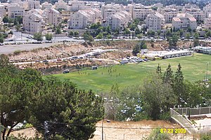 Beitar Jerusalem F.C. - Beitar Jerusalem at their training grounds located between Beit Hakerem and Bayit Vegan