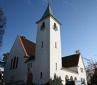Harald Bødtker - Bekkelaget Church