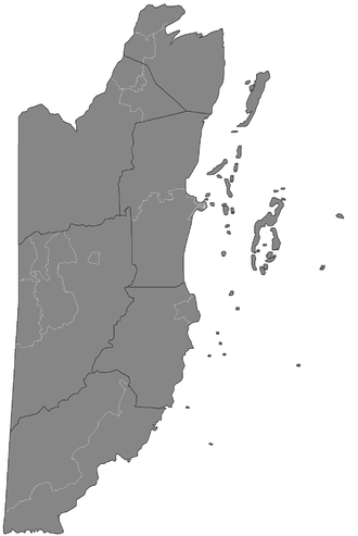 Constituencies of Belize - Constituencies of Beliz